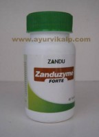Zandu ZANDUZYME FORTE, 60 Tablets, For Acute Indigestion and Dyspepsia