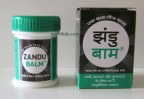 Zandu BALM 25ML/G, For Headache, Body Ache and Cold