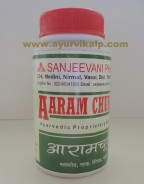Sanjeevani Pharma, AARAM CHURNA, 75g, Gas Trouble, Acidity, Constipation