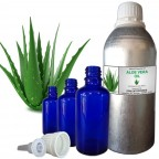 ALOEVERA Carrier Oil, 100% Pure & Natural - 10 ML To 100 ML Therapeutic & Undiluted