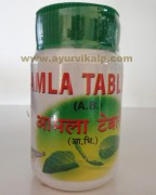 Shriji Herbal, AMLA 160 Tablet, Acidity, Hair Fall, Greying of Hair