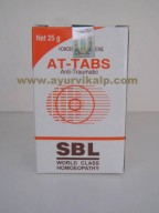 SBL Homeopathy, AT-TABS Tablets, 25 gm, Anti-Traumatic