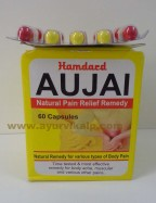 Hamdard, AUJAI, 60 Capsules, Natural Pain Relief Remedy