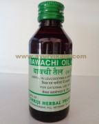 Shriji Herbal BAWACHI OIL, 100 ml, Useful in Leucoderma and Skin Disease