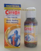 CureOn, PAIN RELIEF OIL, 60 ml, 200ml, Enriched with Kuchala & Erandmool