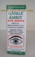 B.C. Hasaram & Sons, GANGA AMRIT EYE DROPS, 25ml, For Eye Care