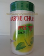 Shreeji Herbal HARDE CHURNA, 100g Useful in Gas Trouble, Headache, Piles