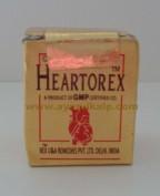 Rex Remedies, HEARTOREX, 10 Pills, Heart Troubles