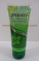 New Shama, Jiyo Fresh TULSI-NEEM Acne Face Wash Gel, 50ml,  Leaves The Skin Fresh