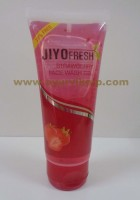 New Shama, Jiyo Fresh STRAWBERRY Face wash Gel, 50ml, Leaves The Skin Fresh