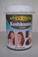Vyas, KESHKUNTAL TABLET, 50 Tablet, For Hair