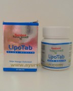 Hamdard, LIPOTAB , 60 Tablets, Manage Cholesterol