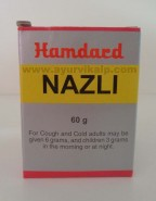 Hamdard, NAZLI, 60g, For Cough, Cold