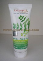 Patanjali, NEEM-ALOEVERA, Face Wash, 60g, For Nourishes The Skin