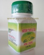 Shriji Herbal Neem Tablets | skin care supplements