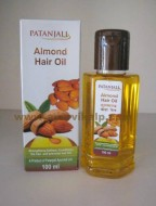 Patanjali, ALMOND HAIR OIL, 100ml, For Prevents Hair Fall