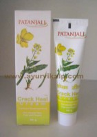 Patanjali, CRAK HEAL CREAM, 50g, For Cracked Heeel, Food & Fingers
