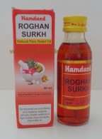 hamdard roghan surkh | pain relief oil | oils for headaches