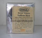 Gokul, Herbal Infusion, SAFFRON RICH, 20 Tea Bags, Boost Immune System