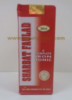 Rex Remedies, SHARABAT FAULAD, 200ml, A Complete Iron Tonic