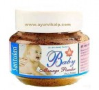 Dr. Balaji Tambe, Santulan BABY MASSAGE Powder, 35g , Baby Care