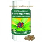 Herbal Hills, Sarpagandha Capsules, Natural Health Management