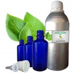 sweet basil essential oil   basil oil   essential oil inhaler