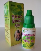 Shriji Herbal, SHADBINDU OIL, 10 ml, Headache, Sinusitis
