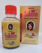 Mahida, SUKOON Herbal Hair Tonic, 100ml, Dry, Damaged Hair