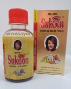 Mahida, SUKOON Herbal Hair Tonic, 100ml, Dry, Damaged Hair