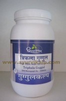 Dhootapapeshwar, TRIPHALA GUGGUL, 1000 Tablets, For Obesity, Sexual Weakness