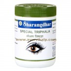 Sharangdhar, SPECIAL TRIPHALA, 120 Tablet, Eye Tonic