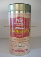 Organic India, TULSI MASALA CHAI 100g, Antioxidant Rich, Stress Relieving Rejuvenating
