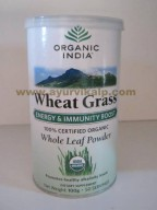 Organic India, WHEAT GRASS POWDER, 100g For Energy & Immunity Boost
