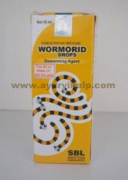 SBL Homeopathy, WORMORID Drops, 30 ml, Deworming Agent
