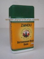 Zandu SUTSHEKHAR RASA SADA, 40 Tablets For Hyper-Acidity
