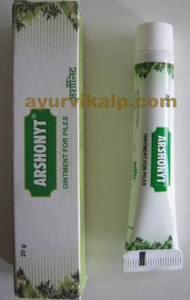 Charak ARSHONYT Ointment, 20gm, For Piles