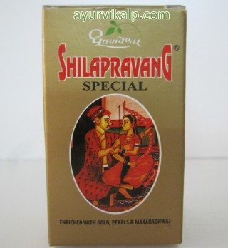 Dhootapapeshwar SHILAPRAVANG Special, 30 tablets, Highly Effective for Males