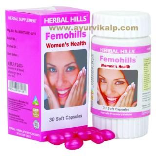 Herbal Hills, FEMOHILLS Capsules, Womens Health