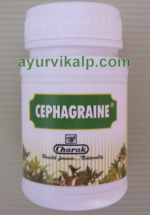 Charak CEPHAGRAINE Tablet Prevents Decongestion & Blockage of nasal cavity