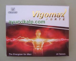 Charak VIGOMAX FORTE TABLET Non- hormonal & safe