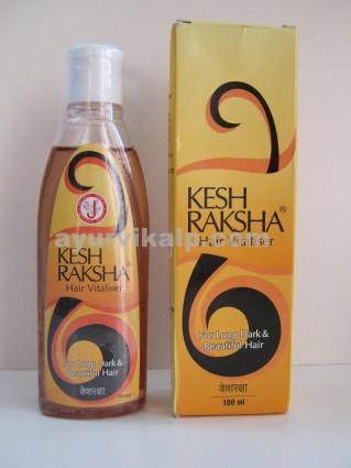 Dr. JRK Siddha KESH RAKSHA,100ml, Hair Vitalizer  for Long, Dark & Beautiful Hair