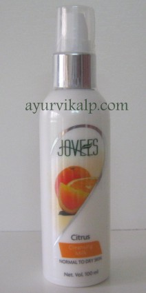 Jovees CITRUS Cleansing Milk Normal To Dry Skin 100ML