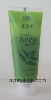 Jovees NATURAL NEEM Face Wash 120ML for all Skin Types