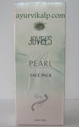 Jovees PEARL Whitening Face Pack 60gm Nano Skin Technology