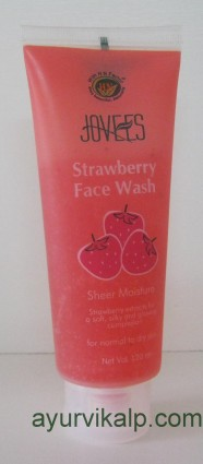 Jovees STRAWBERRY Face Wash 120ML Sheer Moisturiser