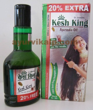 KESH KING Hair Oil, Dr. Juneja, prevents dandruff, Sleeplessness & Headache