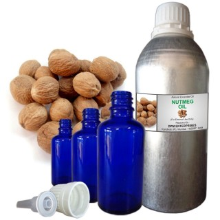 NUTMEG Essential Oil, 100% Pure & Natural - 10 ML To 100 ML Therapeutic & Undiluted