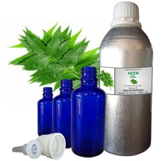 NEEM Essential Oil, 100% Pure & Natural - 10 ML To 100 ML Therapeutic & Undiluted