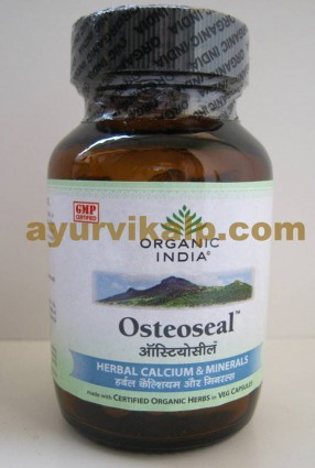 Organic India OSTEOSEAL, 60 Capsules, for Proper Bone Growth